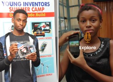 young inventors in portfolio
